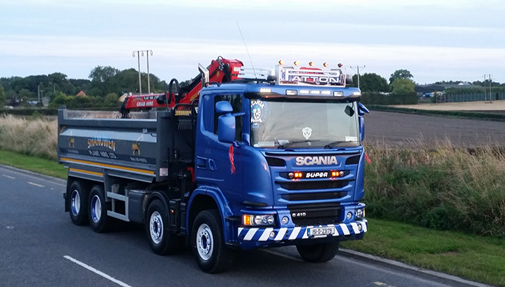 Shanowen Plant Hire Ltd - Tipper Trucks