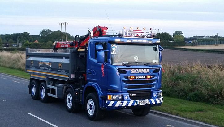 Shanowen Plant Hire Ltd - Tipper Trucks